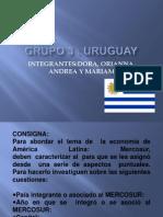 Grupo 3 Uruguay Integrantes Dora, Orianna, Andrea y Mariam