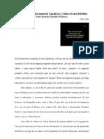 Análisis de Video Documental- Zapatistas, Crónica de una Rebelión.