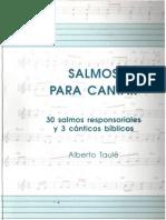 Salmos Para Cantar, Alberto Taule