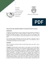 PSICOLOGÍA DEL DEPORTE DESDE UN ENFOQUE SOCIOCULTURA2L
