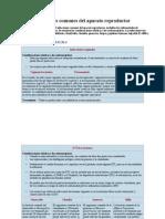 Cuadro de Infecciones Del Aparato Reproductor
