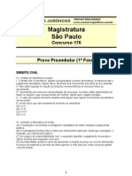 Prova Magistratura SP 176