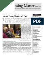 DVC-GBW Spring 2013 Newsletter