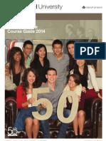 Monash Law Undergraduate Course Guide 2014