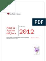Recetario Mañoso - 05 - Azafrán del Jiloca (May 2012)