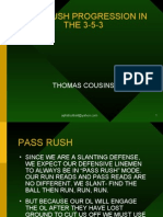 PASS RUSH PROGRESSION IN THE 3-5-3