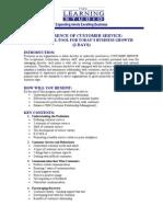 The Essence of Customer Service