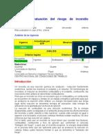 NTP 599 Evaluacion Del Riesgo de Incendio Criterios