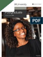 Monash Law Postgraduate Course Guide 2013