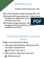 Diabetes Mellitus Gestasional Kuliah FK UNAND oleh dr Eva Decroli Sp.PD, KEMD FINASIM