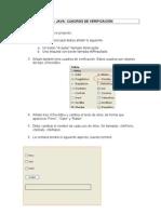 Ejemplo CheckBox NetBeans