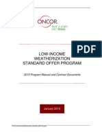Oncor - Low-Income Weatherization Standard Offer Program