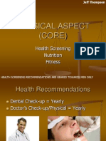 Physical/Health CORE