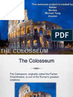 The Colosseum Powerpoint Document