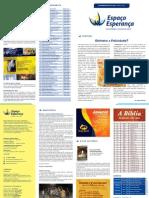 Espaço Esperança - Informativo 609 / ABRIL 2013
