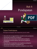 Slide PPT Teori Akuntansi Bab Pendapatan Suwarjono