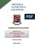 Consulta 2 de Completacion de Pozos Carlos Chico