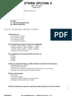 Cuestionario Access 2013