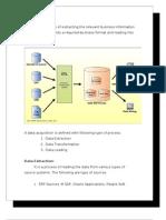 Data Warehouse Theory
