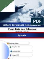 5 330 Sistem Informasi Kepegawaian Pusat Data Dan Informasi