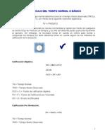 3.8 CALCULO DEL TIEMPO NORMAL O BÁSICO (1)