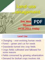 Presentation on Land-use Management