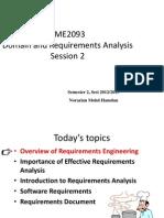 TME2093 - Session 2