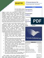 PT Garuda Indonesia Tbk- IPO Case