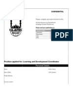 Islamic Relief - Application_Form.doc