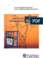 Catálogo VED905 Excitatriz Digital para Motor Síncrono V1P