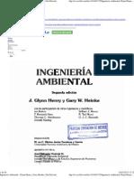 Ingeniería Ambiental - Glynn Henry y Gary Heinke (2da Edición)
