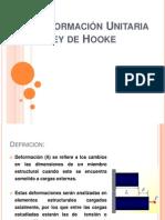 Relación Esfuerzo - Deformación Unitaria & Ley de