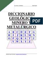 Diccionario Minero, Geologico y Metalurgico Ingles-Español1