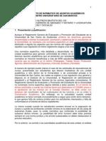 Proyecto Normativo Asuntos Academicos Cusam