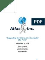 Atlas Incorporated - Marketing Management Report