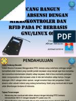 Sistem Absensi Rfid