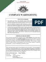 Complex Warfighting