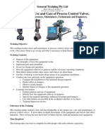 Process Control Valves Training
