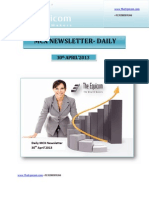 Daily MCX Newsletter 30April2013