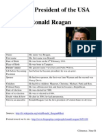 Ronald Reagan (Clémence R)