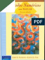 Metodos Numericos Con Matlab John Mathews Kurtis Fink