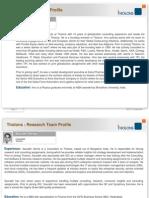 Tholons Team Profile (Vietnam Domestic Study)