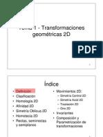 Tema 1-Transformaciones geométricas 2D