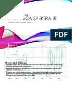 Membaca Spektra IR KFA2