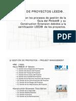 Gestión de Proyectos LEED. Cambios en los procesos de la guía del PMBOK