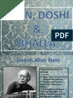 Stein Doshi n Bhalla
