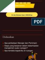 Materi s1 Bhn p'Ardi Manajemen Bangsal