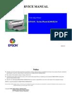 Epson R200 Service Manual