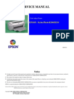 Epson R200 Service Manual