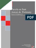 Memoria topografica JCR07-2012 Parcela 50 Polígono 18 Sant Antoni de Portmany